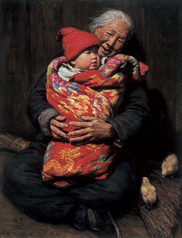 母亲节:世界名画中最伟大、最温情的爱!插图83