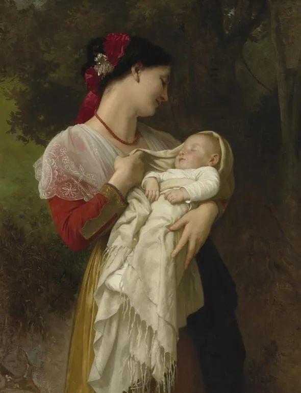 母亲节:世界名画中最伟大、最温情的爱!插图87