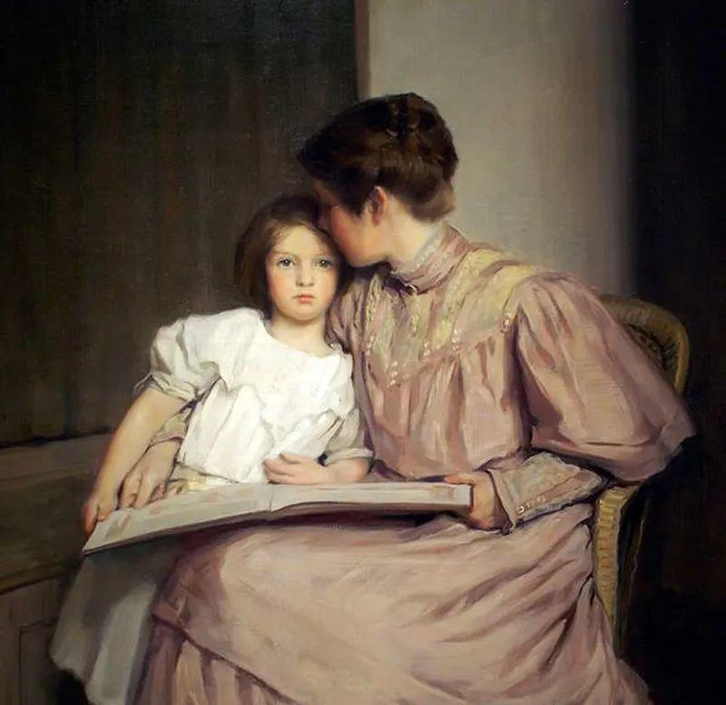 母亲节:世界名画中最伟大、最温情的爱!插图91