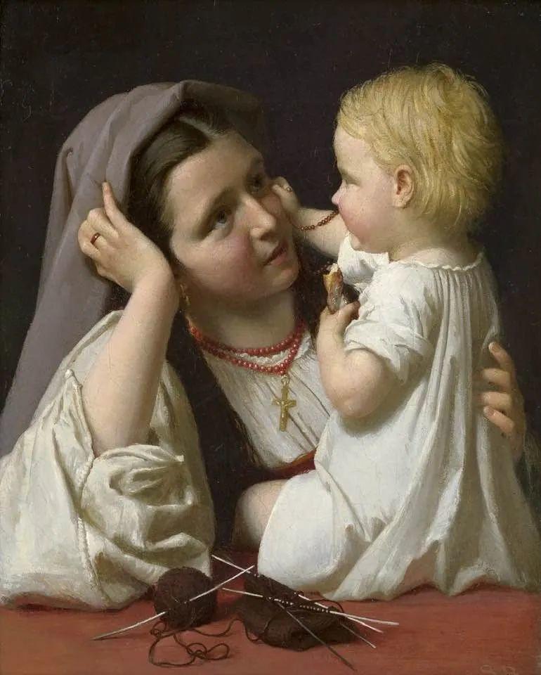 母亲节:世界名画中最伟大、最温情的爱!插图93