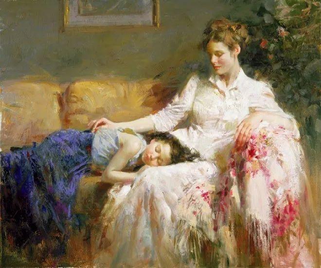 母亲节:世界名画中最伟大、最温情的爱!插图95