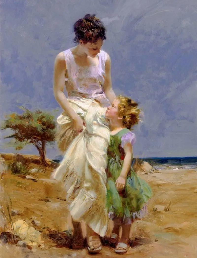 母亲节:世界名画中最伟大、最温情的爱!插图97