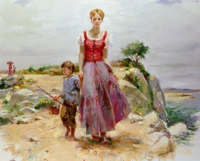 母亲节:世界名画中最伟大、最温情的爱!插图99
