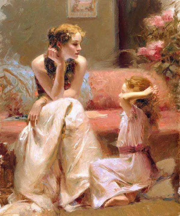 母亲节:世界名画中最伟大、最温情的爱!插图101