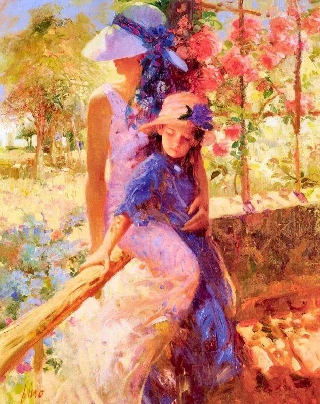 母亲节:世界名画中最伟大、最温情的爱!插图103