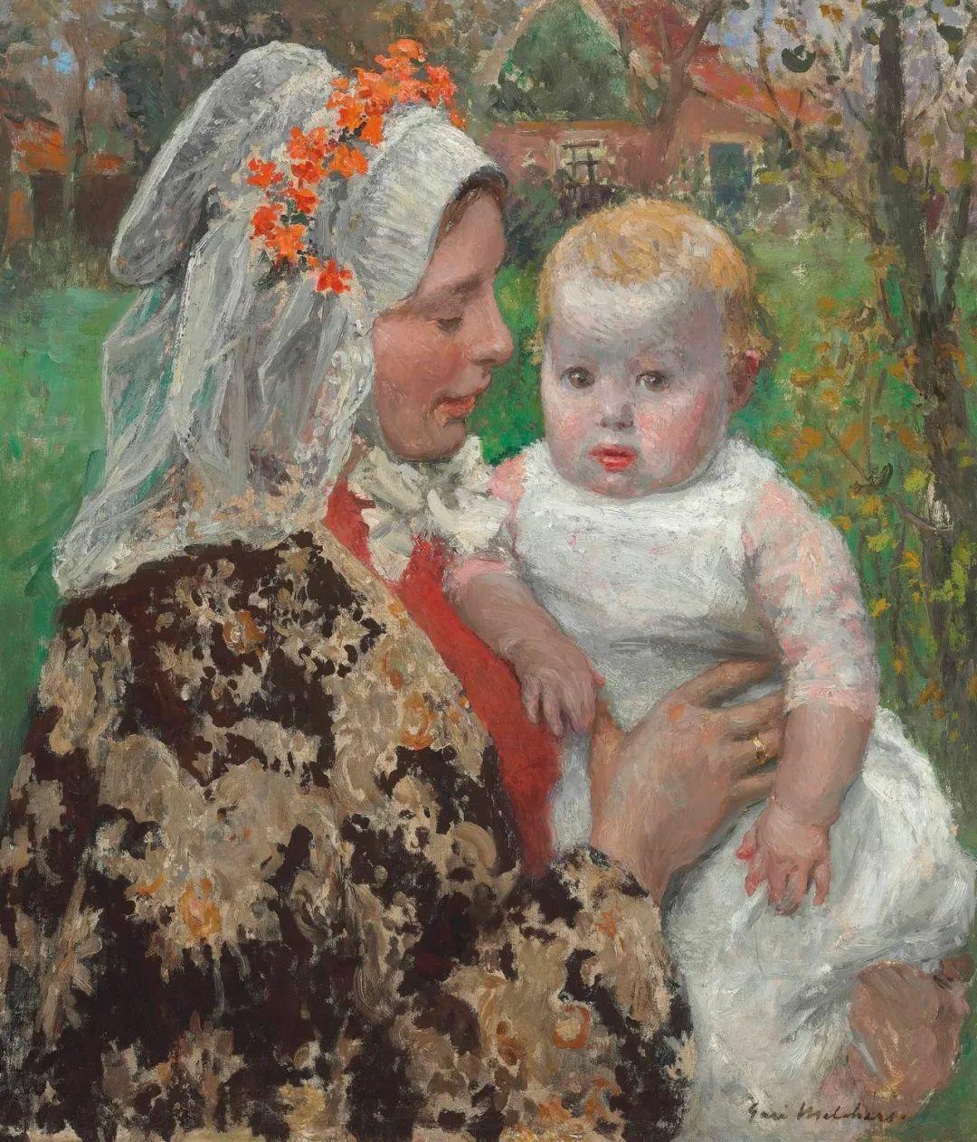 母亲节:世界名画中最伟大、最温情的爱!插图105