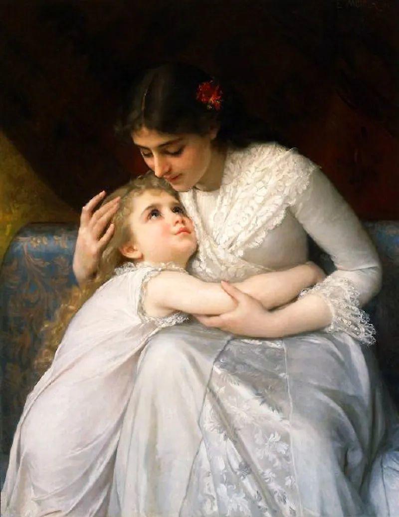 母亲节:世界名画中最伟大、最温情的爱!插图109