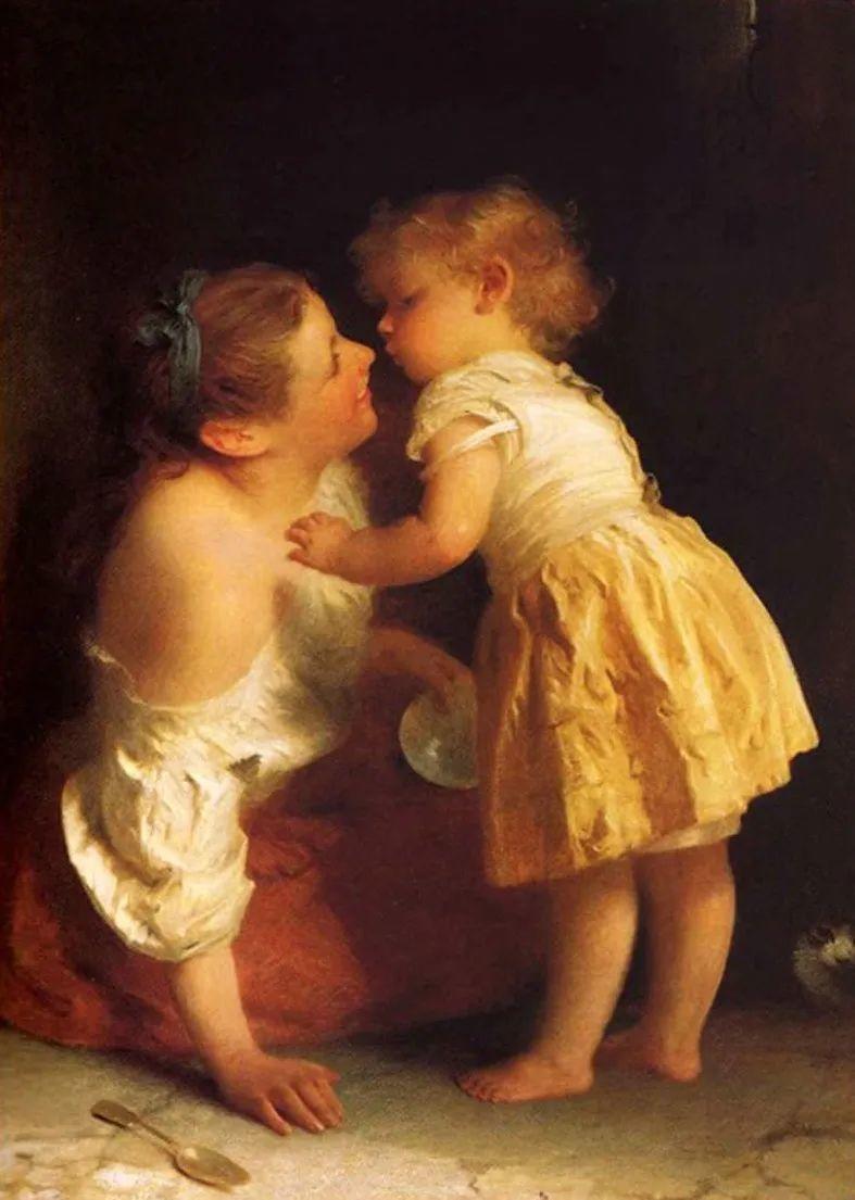 母亲节:世界名画中最伟大、最温情的爱!插图111
