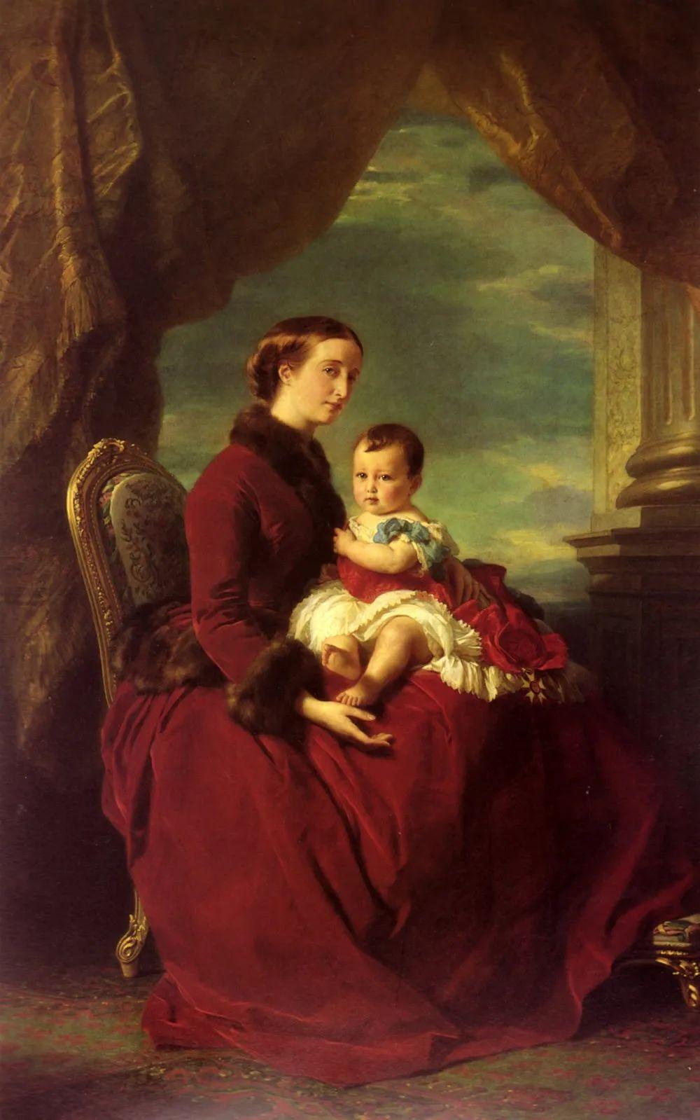 母亲节:世界名画中最伟大、最温情的爱!插图115