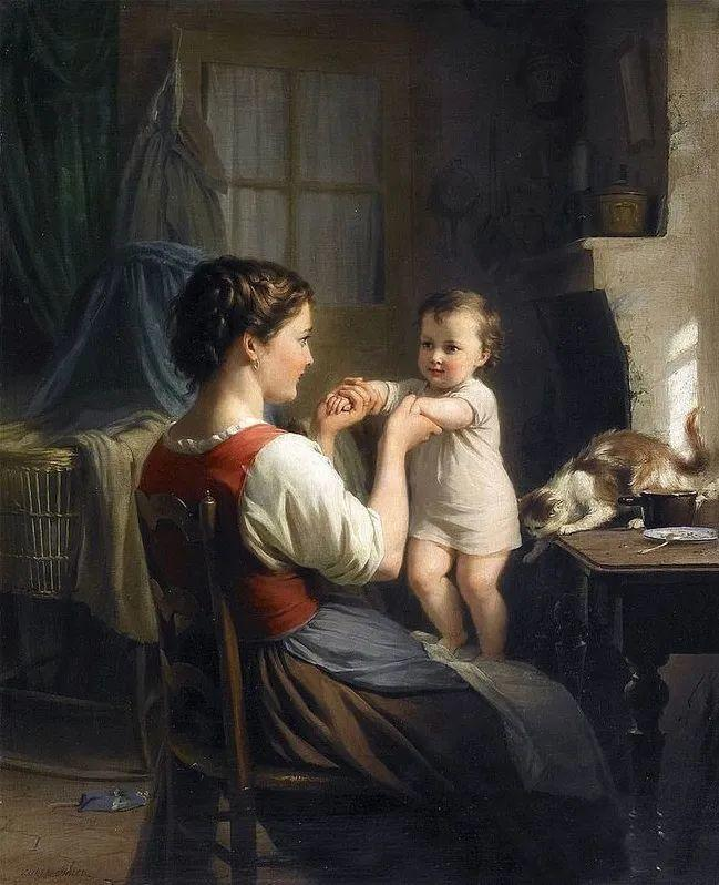 母亲节:世界名画中最伟大、最温情的爱!插图117