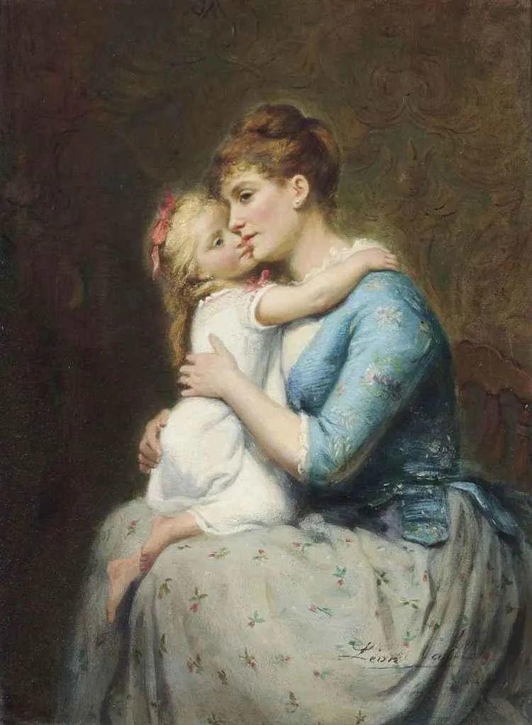 母亲节:世界名画中最伟大、最温情的爱!插图119