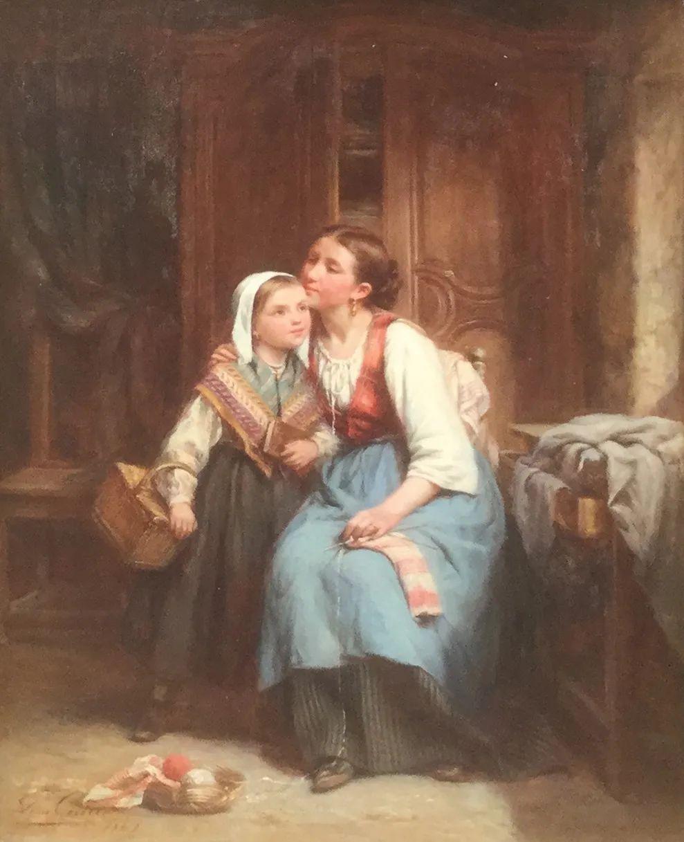 母亲节:世界名画中最伟大、最温情的爱!插图123