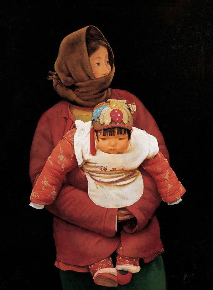 母亲节:世界名画中最伟大、最温情的爱!插图125