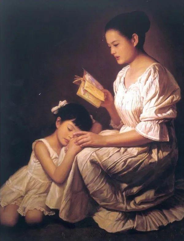 母亲节:世界名画中最伟大、最温情的爱!插图127