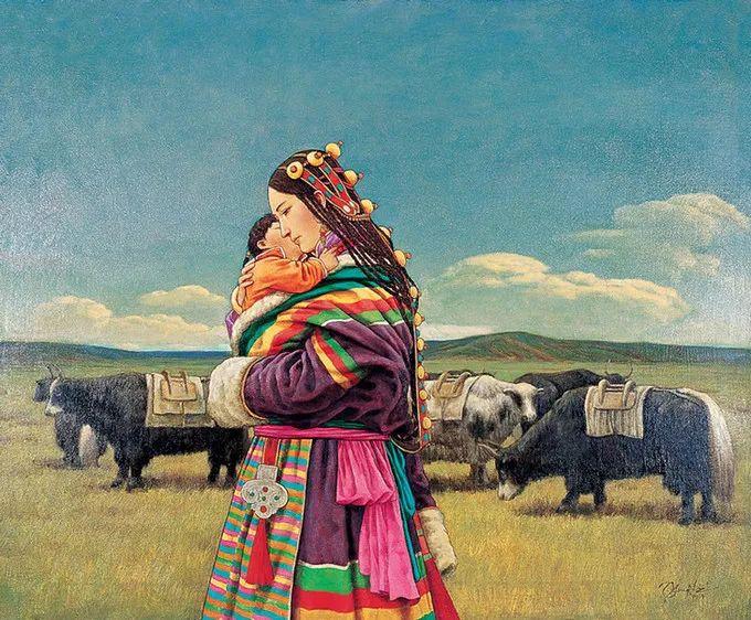 母亲节:世界名画中最伟大、最温情的爱!插图129
