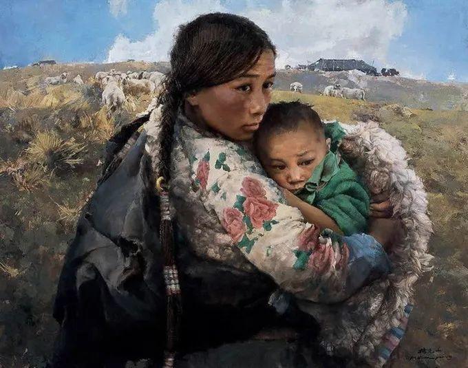 母亲节:世界名画中最伟大、最温情的爱!插图133
