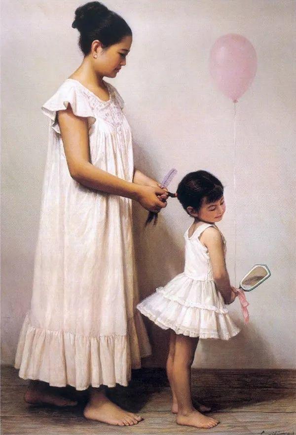 母亲节:世界名画中最伟大、最温情的爱!插图137