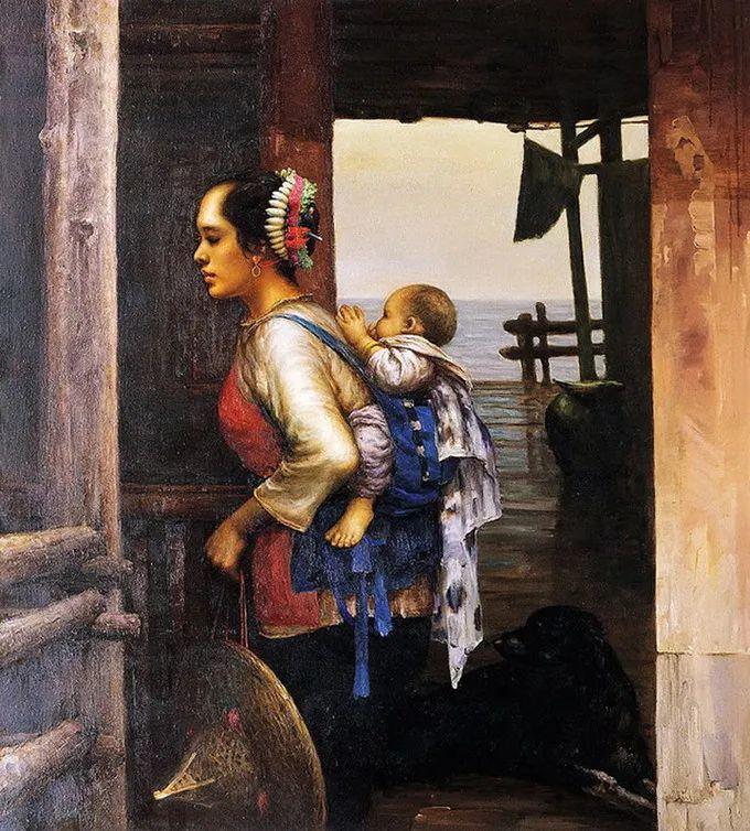 母亲节:世界名画中最伟大、最温情的爱!插图139