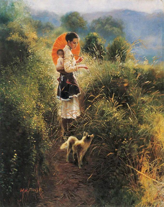 母亲节:世界名画中最伟大、最温情的爱!插图143
