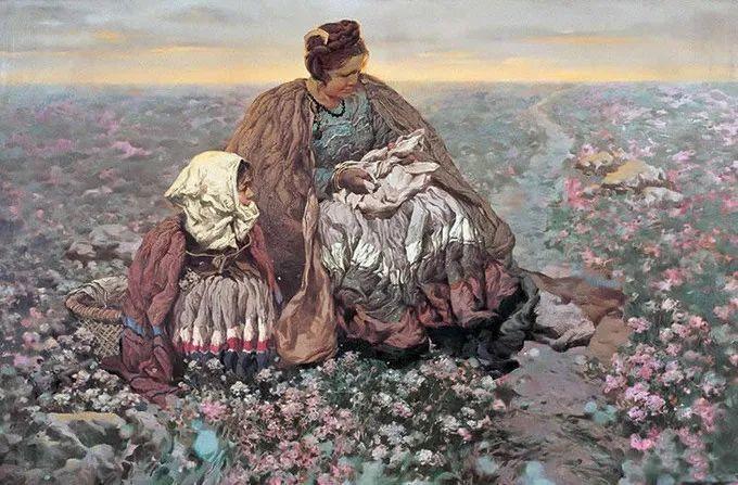 母亲节:世界名画中最伟大、最温情的爱!插图145