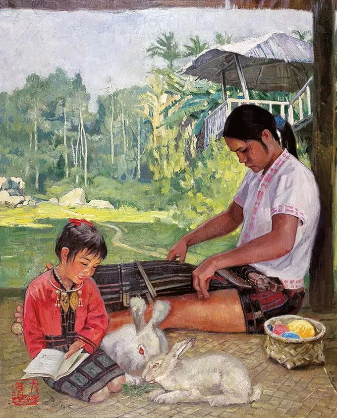 母亲节:世界名画中最伟大、最温情的爱!插图149
