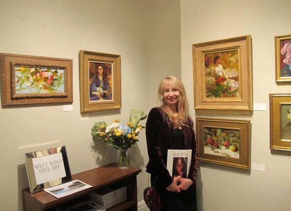 南希·古兹克笔下的花卉静物油画,爱了!插图15