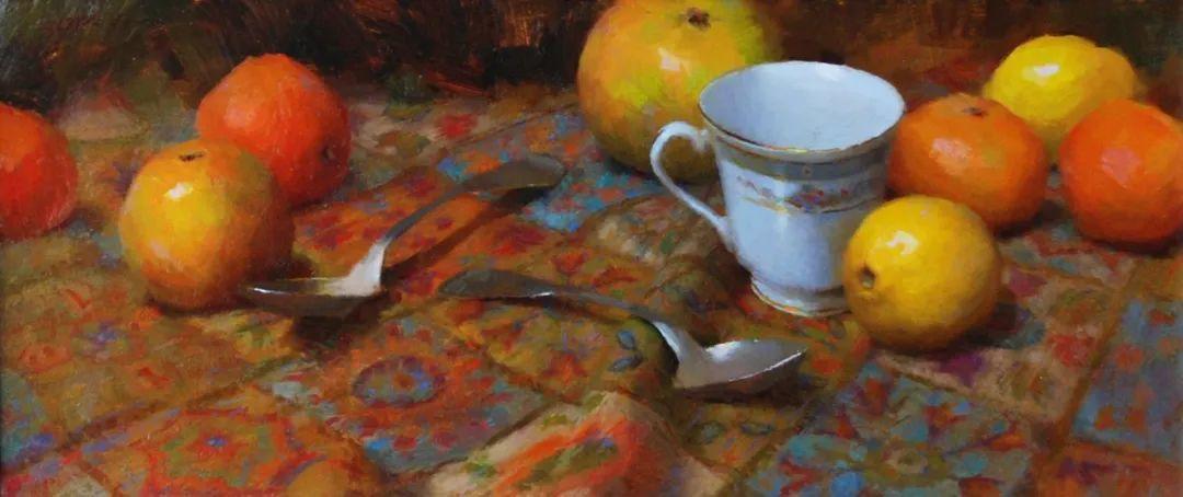 南希·古兹克笔下的花卉静物油画,爱了!插图63