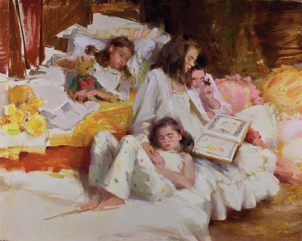 南希·古兹克笔下的花卉静物油画,爱了!插图73