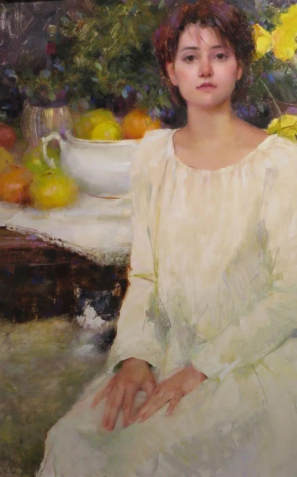 南希·古兹克笔下的花卉静物油画,爱了!插图81