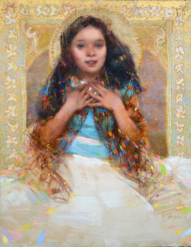 南希·古兹克笔下的花卉静物油画,爱了!插图83