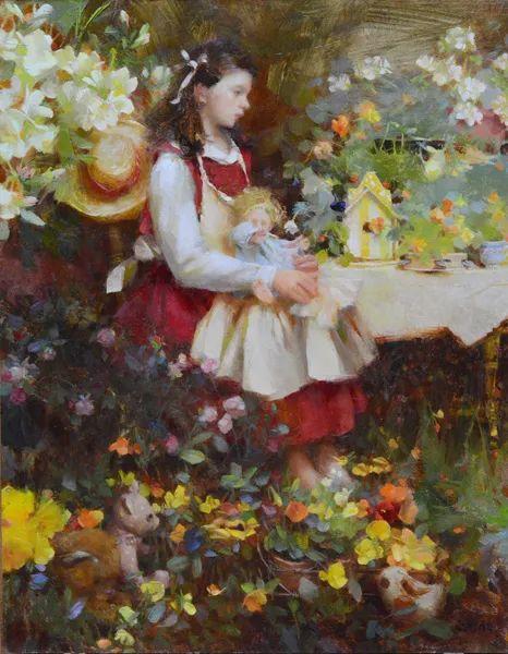 南希·古兹克笔下的花卉静物油画,爱了!插图89