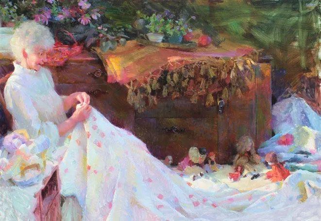 南希·古兹克笔下的花卉静物油画,爱了!插图91