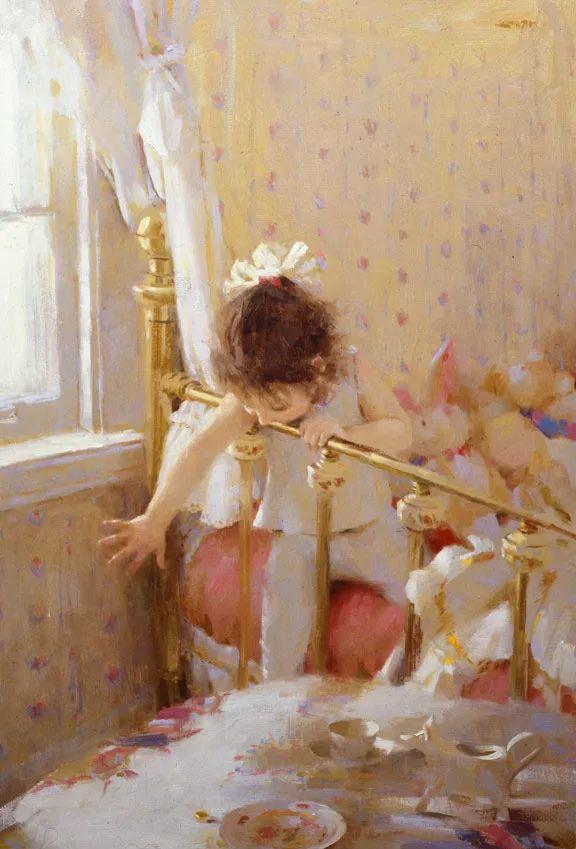 南希·古兹克笔下的花卉静物油画,爱了!插图93