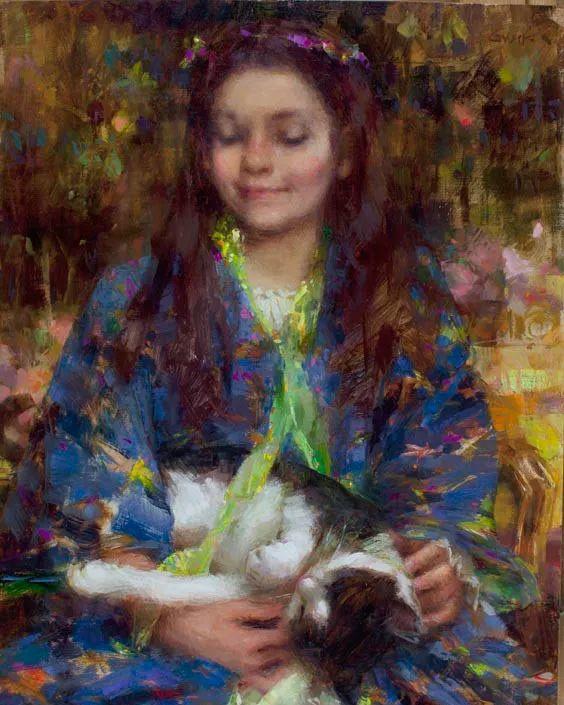 南希·古兹克笔下的花卉静物油画,爱了!插图95