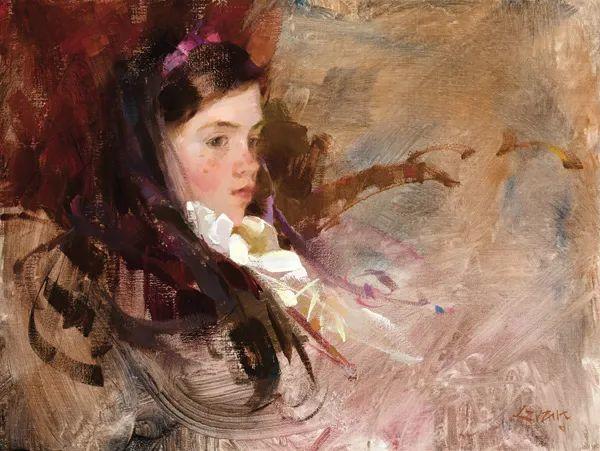 南希·古兹克笔下的花卉静物油画,爱了!插图99