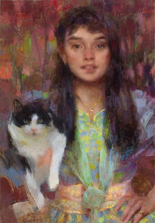 南希·古兹克笔下的花卉静物油画,爱了!插图111