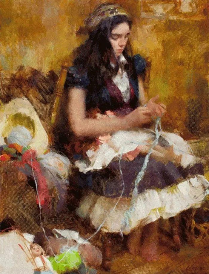 南希·古兹克笔下的花卉静物油画,爱了!插图115