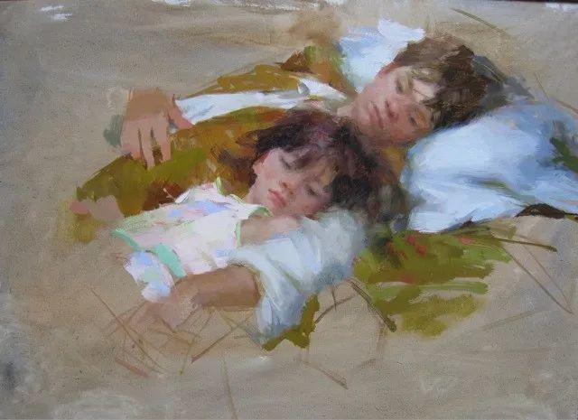 南希·古兹克笔下的花卉静物油画,爱了!插图121