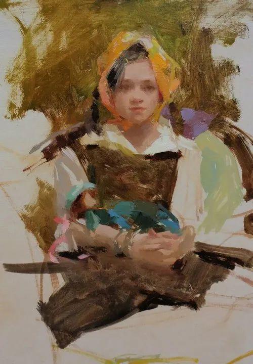 南希·古兹克笔下的花卉静物油画,爱了!插图123