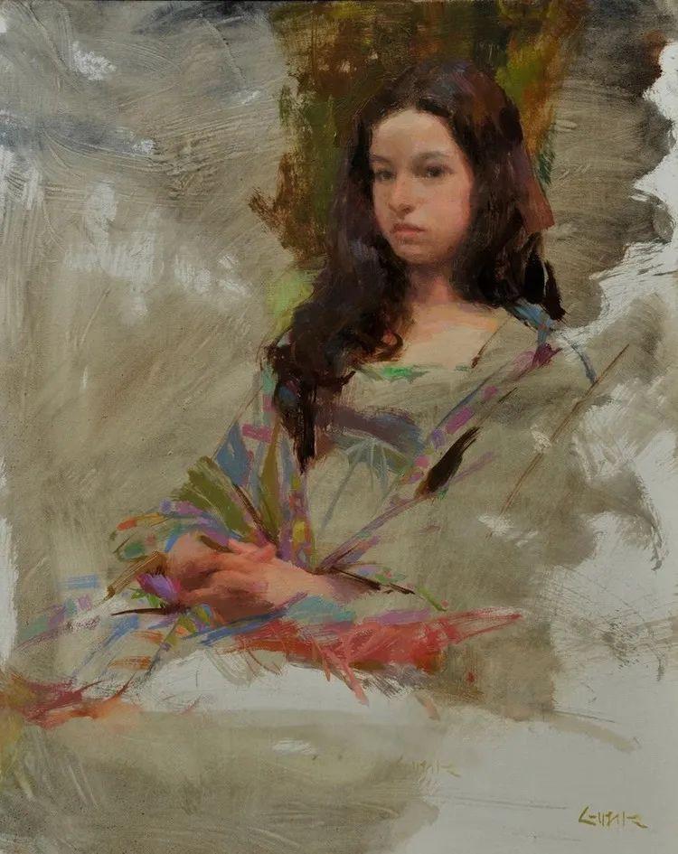 南希·古兹克笔下的花卉静物油画,爱了!插图127
