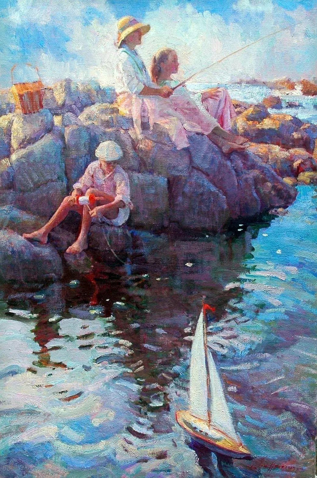 他的绘画以一种全新的、极其个人化的方式展现了光和形式!插图5