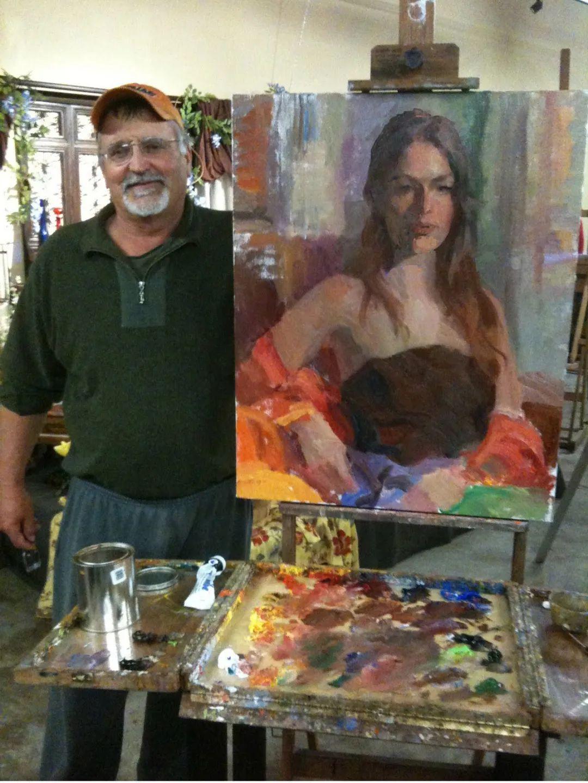 他的绘画以一种全新的、极其个人化的方式展现了光和形式!插图11