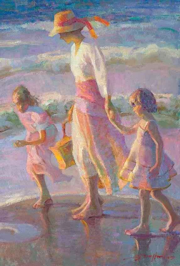 他的绘画以一种全新的、极其个人化的方式展现了光和形式!插图15
