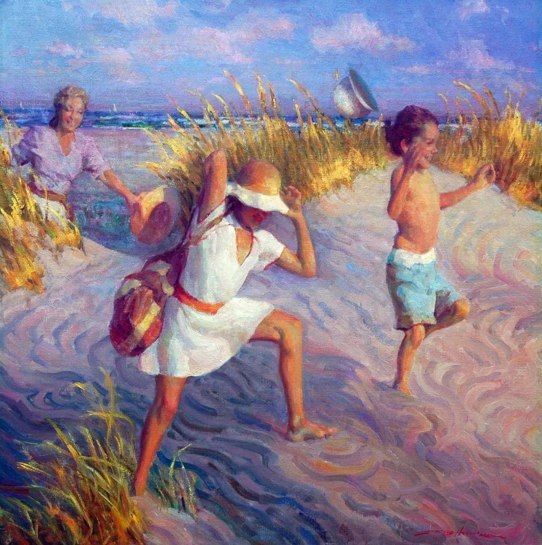 他的绘画以一种全新的、极其个人化的方式展现了光和形式!插图19