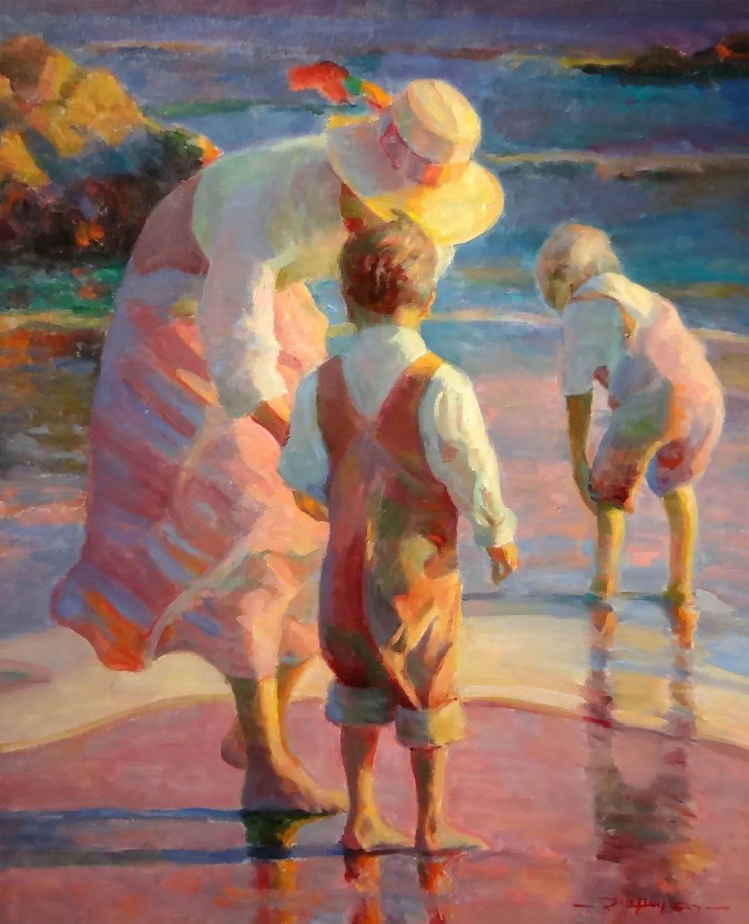 他的绘画以一种全新的、极其个人化的方式展现了光和形式!插图23