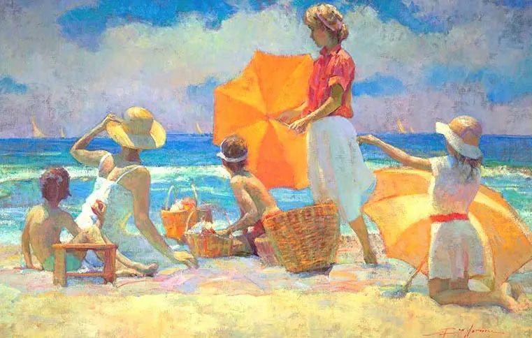 他的绘画以一种全新的、极其个人化的方式展现了光和形式!插图27