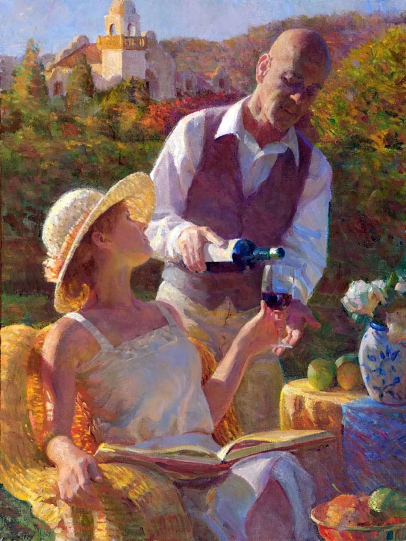 他的绘画以一种全新的、极其个人化的方式展现了光和形式!插图35