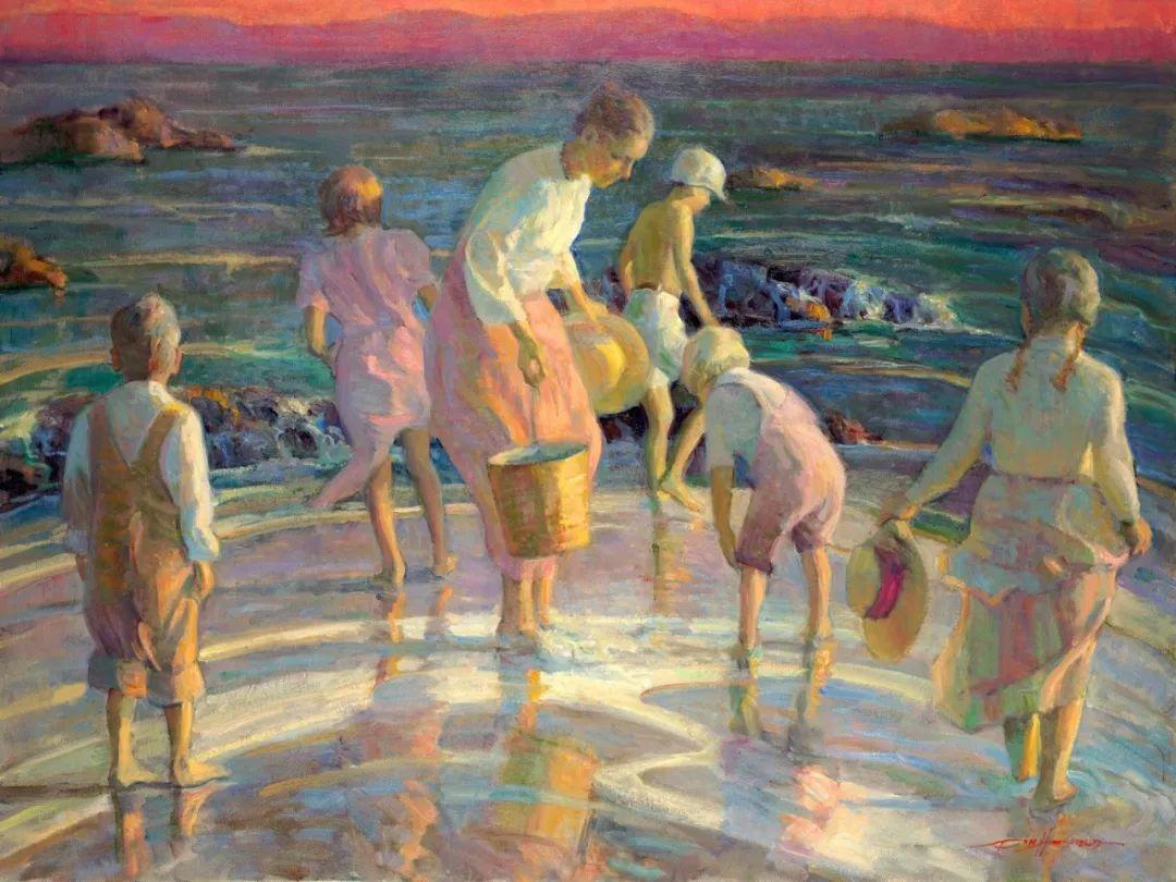 他的绘画以一种全新的、极其个人化的方式展现了光和形式!插图39