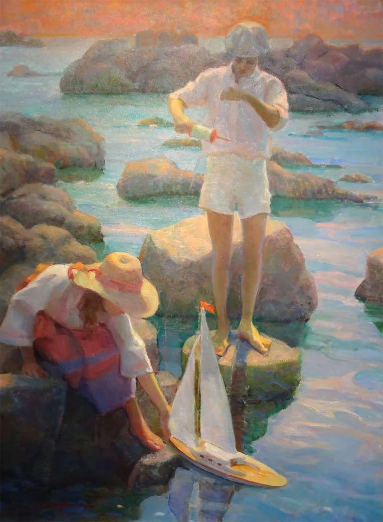他的绘画以一种全新的、极其个人化的方式展现了光和形式!插图47