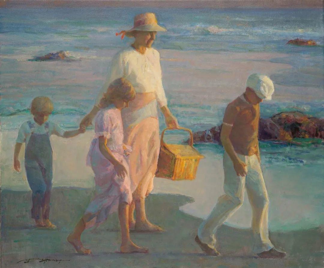他的绘画以一种全新的、极其个人化的方式展现了光和形式!插图53